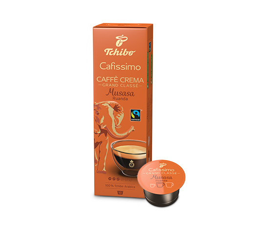 Tchibo Caffe Crema Fina aroma kapszula 30db Kávé kapszula